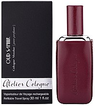 Atelier Cologne Oud Saphir Refillable Travel Spray - Apă de colonie — Imagine N2