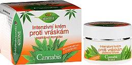 Parfumuri și produse cosmetice Cremă antirid pentru față - Bione Cosmetics Cannabis Intensive Anti-Wrinkle Cream