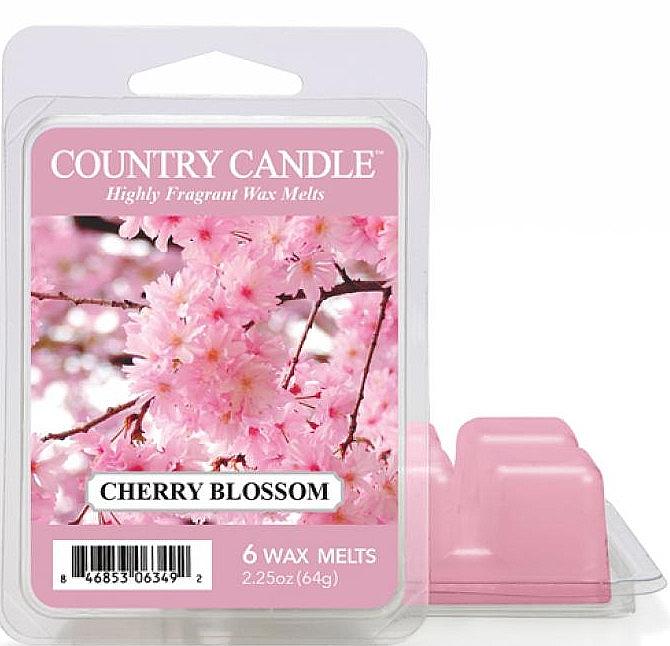 Ceară pentru lampă aromată - Country Candle Cherry Blossom Wax Melts — Imagine N1