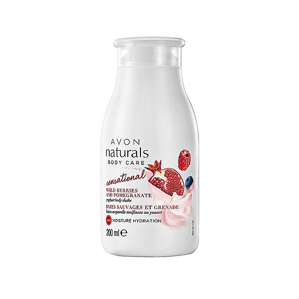 "Loțiune de corp ""Iaurt"" - Avon Naturals Body Lotion"