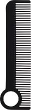 Parfumuri și produse cosmetice Perie de păr, neagră - Chicago Comb Co CHICA-1-CF Model № 1 Carbon Fiber