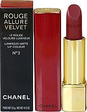 Parfumuri și produse cosmetice Ruj de buze - Chanel Rouge Allure Velvet Luminous Matte Lip Color