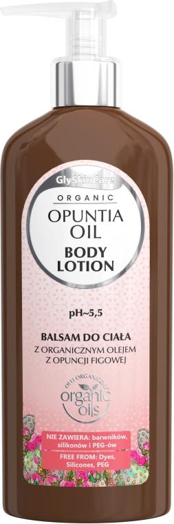 Loțiune de corp cu extract organic de smochine - GlySkinCare Opuntia Oil Body Lotion