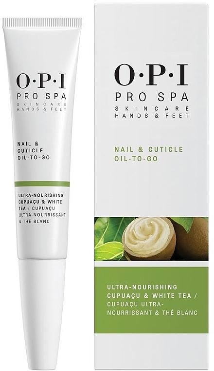 Ulei pentru unghii și cuticule - O.P.I. ProSpa Nail & Cuticle Oil To Go