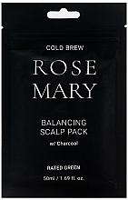 Parfumuri și produse cosmetice Mască regenerantă cu suc de portocală pentru scalp - Rated Green Cold Brew Rosemary Balancing Scalp Pack