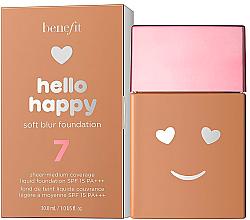 Parfumuri și produse cosmetice Fond de ten - Benefit Hello Happy Soft Blur Foundation
