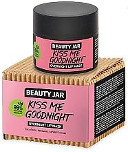 Parfumuri și produse cosmetice Mască de noapte pentru buze - Beauty Jar Kiss Me Goodnight Overnight Lip Mask