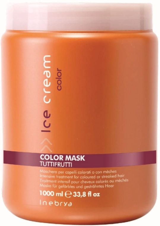 Masca pentru păr vopsit - Inebrya Ice Cream Color Mask — Imagine N2