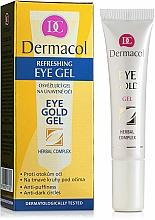 Parfumuri și produse cosmetice Gel împotriva oboselii și cearcănelor pentru ochi - Dermacol Eye Gold Gel