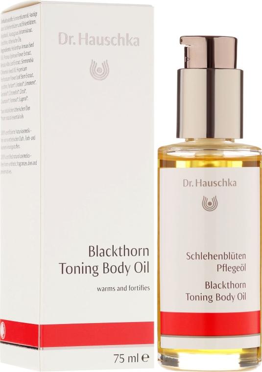 "Ulei de corp ""Coloană de flori"" - Dr. Hauschka Blackthorn Toning Body Oil — Imagine N1"