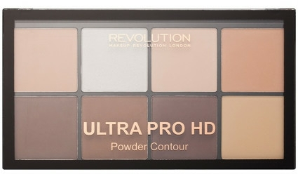 Paleta pentru contur facial - Makeup Revolution HD Pro Powder Contour