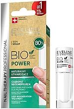 Parfumuri și produse cosmetice Întăritor pentru unghii - Eveline Cosmetics Nail Therapy Bio Power