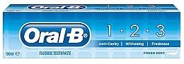 Parfumuri și produse cosmetice Pastă de dinți - Oral B 1-2-3 Fresh Mint Toothpaste