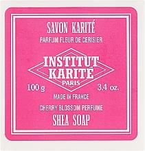 Parfumuri și produse cosmetice Săpun - Institut Karite Fleur de Cerisier Shea Soap