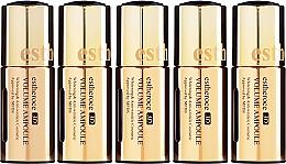 """Parfumuri și produse cosmetice Set seruri pentru față """"Reînnoirea celulară a pielii"""" - Deoproce Serum 3D Ampoule (Serum 18mlx5)"""