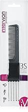 Parfumuri și produse cosmetice Pieptene de buzunar, 499079, negru - Inter-Vion