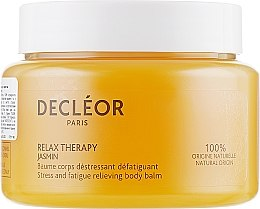 Parfumuri și produse cosmetice Balsam cu extract de iasomie și efect de relaxare pentru corp - Decleor Relax Therapy Jasmin Stress And Fatigue Relieving Body Balm