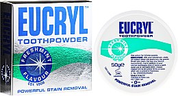 Parfumuri și produse cosmetice Praf de dinți - Eucryl Toothpowder Freshmint