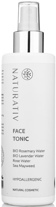 Tonic hipoalergenic pentru față - Naturativ Hypoallergenic Face Toner — Imagine N2