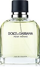 Dolce & Gabbana Pour Homme - Apă de toaletă (tester cu capac) — Imagine N1