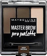 Parfumuri și produse cosmetice Paletă de farduri de sprâncene - Maybelline Master Brow Pro Palette Kit