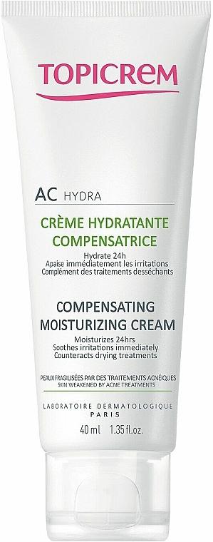Cremă hidratantă compensatoare pentru față - Topicrem AC Compensating Moisturizing Cream