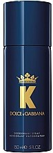 Parfumuri și produse cosmetice Dolce & Gabbana K By Dolce & Gabbana - Deodorant