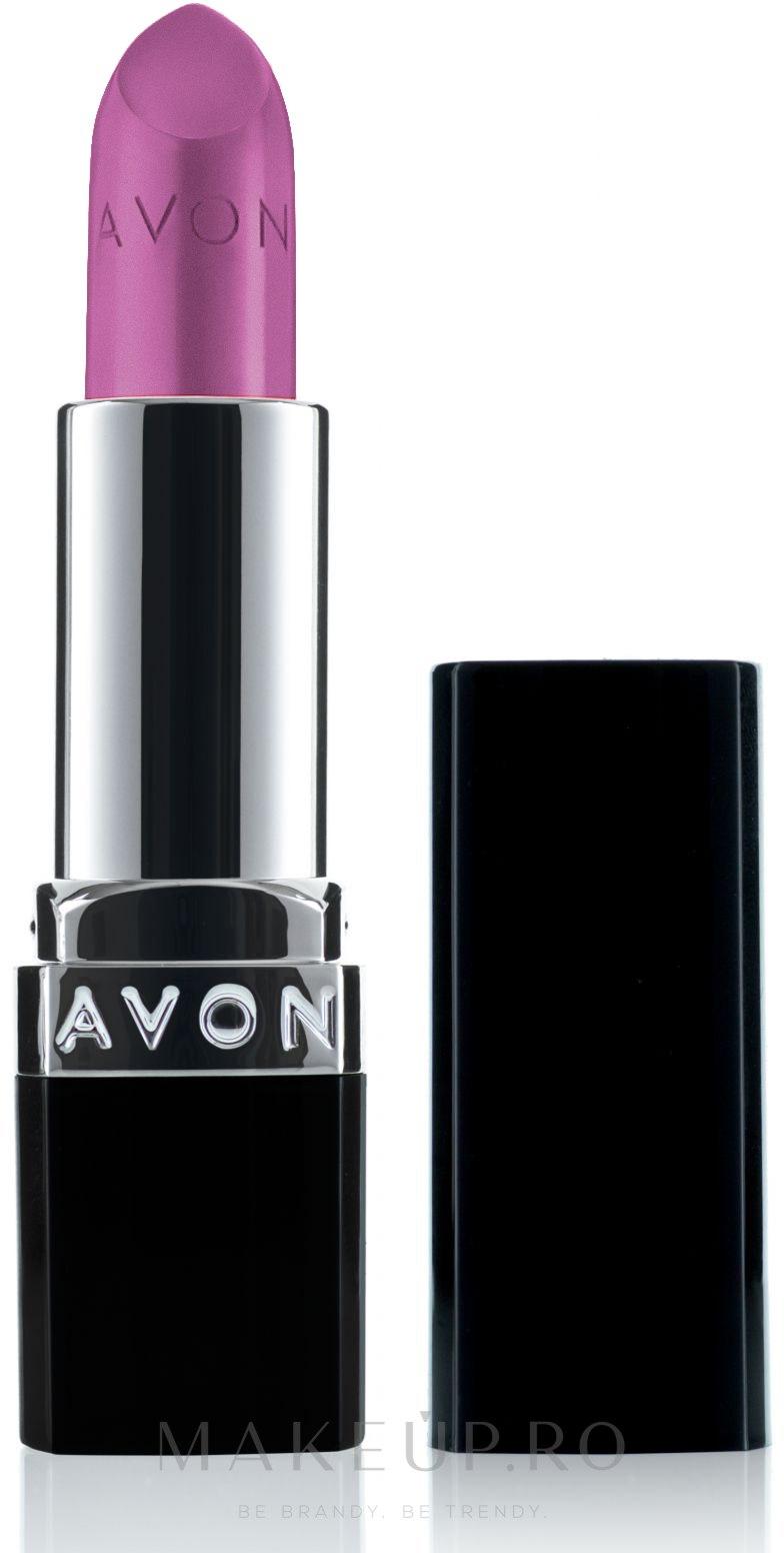 "Ruj ""Excelență mat"" - Avon True Colour Perfectly Matte Lipstick — Imagine Ideal Lilac"