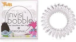 Parfumuri și produse cosmetice Elastic de păr - Invisibobble Troll Sparkling Clear