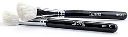 Parfumuri și produse cosmetice Pensulă pentru fard de obraz, BCF-32 - Beauty Crew