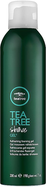 Gel de ras - Paul Mitchell Tea Tree Shave Gel — Imagine N1