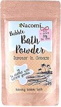 Parfumuri și produse cosmetice Pudră pentru baie - Nacomi Bath Powder