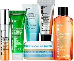 Set - Peter Thomas Roth A-List Kit (serum/10ml+peeling/15ml+clean/cr/20ml+patch/20pcs+mask/30ml+clean/gel/57ml) — Imagine N2