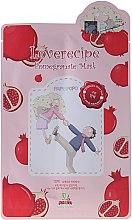 Parfumuri și produse cosmetice Mască cu extracat de rodie pentru față - Sally's Box Loverecipe Pomegranate Mask