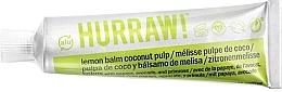 Parfumuri și produse cosmetice Balsam universal concentrat cu parfum de lămâie și nucă de cocos - Hurraw! Balmtoo Lemon Balm Coconut Pulp
