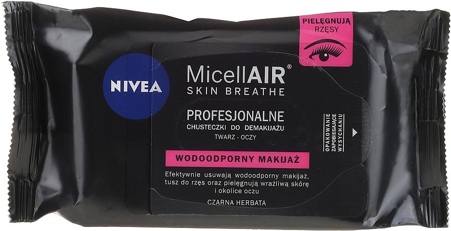 Șervețele demachiante - Nivea MicellAIR Expert Micellar Makeup Remover Wipes