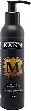 Parfumuri și produse cosmetice Gel de curățare pentru față și barbă - Kann Face And Beard Gel