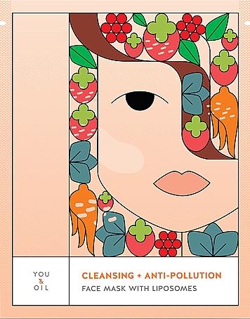 Mască de față - You & Oil Cleansing & Anti-Pollution Face Mask With Liposomes — Imagine N1