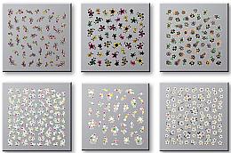 Parfumuri și produse cosmetice Abțibilduri pentru unghii 42737 - Top Choice Nail Decorations Stickers Set
