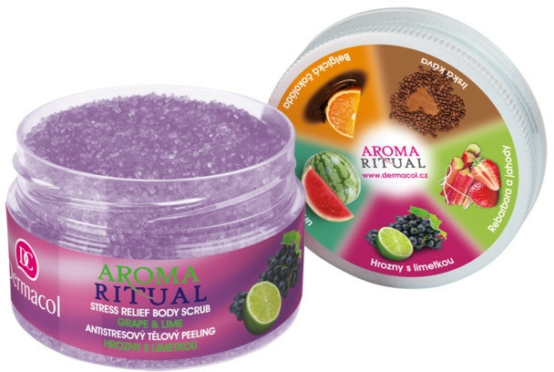 "Scrub pentru corp ""Struguri și lime"" - Dermacol Aroma Ritual Body Scrub Grape&Lime — Imagine N1"