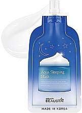 Parfumuri și produse cosmetice Mască hidratantă de noapte cu uleiuri aromatice pentru față - Beausta Aqua Sleeping Mask