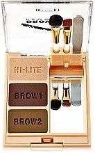 Parfumuri și produse cosmetice Set pudră pentru sprîncene - Milani Brow Fix Eye Brow Powder