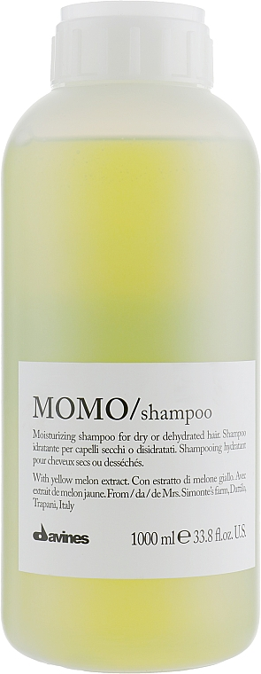 Șampon hidratant - Davines Moisturizing Revitalizing Shampoo — Imagine N1
