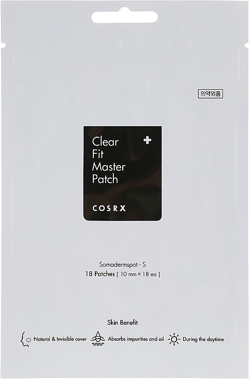 Patch-uri împotriva acneei - Cosrx Clear Fit Master Patch