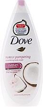 """Cremă gel de duș """"Lapte din nucă de cocos și petale de iasomie"""" - Dove — Imagine N2"""