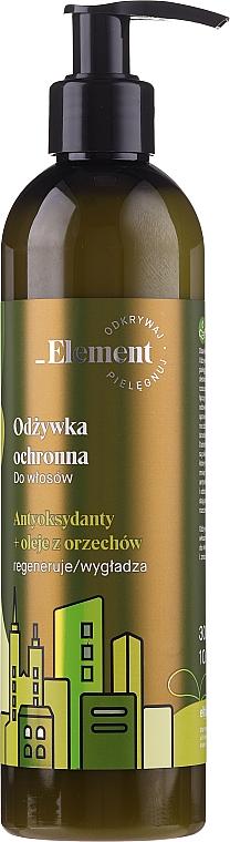 """Balsam protector pentru păr """"Antioxidanți și uleiuri de nuci"""" - _Element Protective Hair Conditioner, Antioxidants and Nut Oils"""