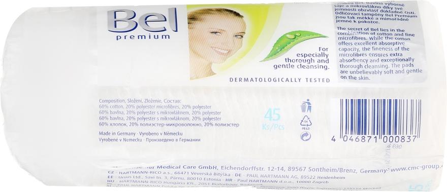 Discuri din bumbac - Bel Premium Oval Pads with Aloe Vera — Imagine N3