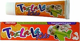 """Parfumuri și produse cosmetice Pastă de dinți """"Tropic"""" - Dental Tra-La-La Kids Tropical Fruit Toothpaste"""