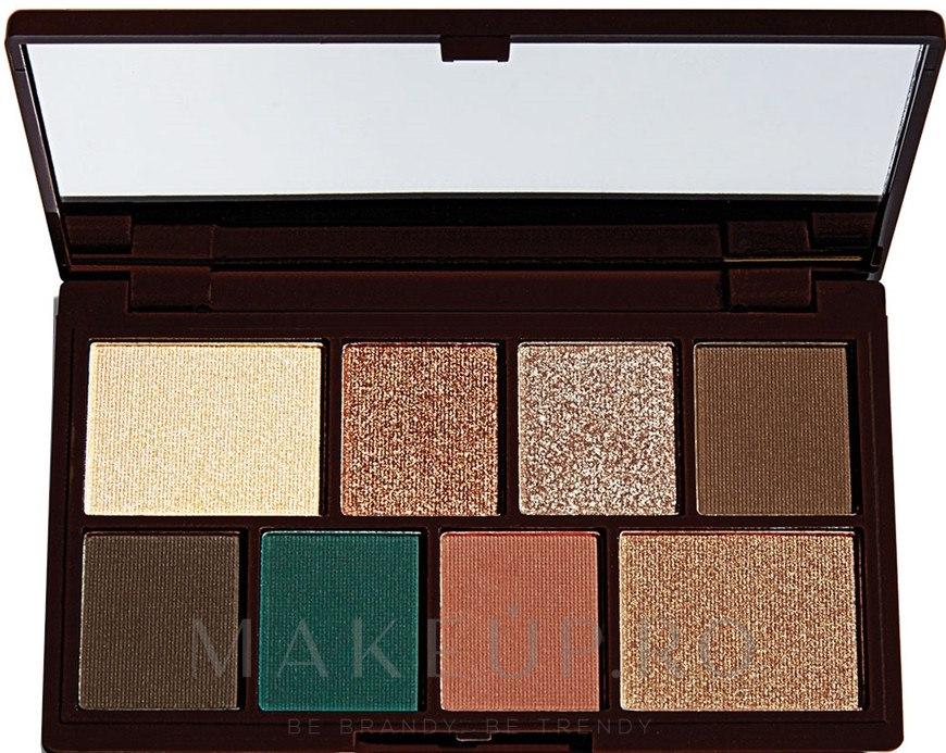 Paletă fard de pleoape, 8 nuanțe - I Heart Revolution Mini Eyeshadow Palette — Imagine Choc Mint