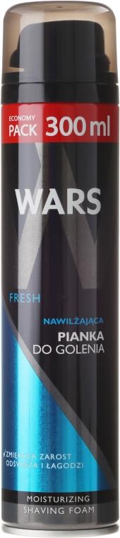 "Spumă de ras ""Hidratare"" - Wars Fresh Moisturizing Shaving Foam"
